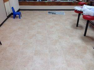 長崎市で店舗床リフォーム