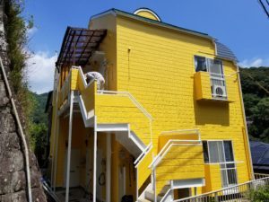 長崎市で外壁塗装の施工後