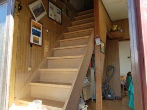 階段のリフォーム後