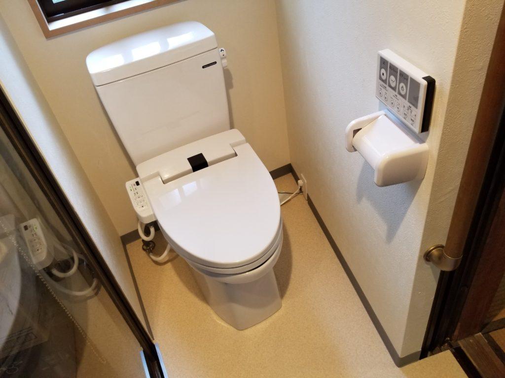 長崎市でトイレのリフォームの施工後