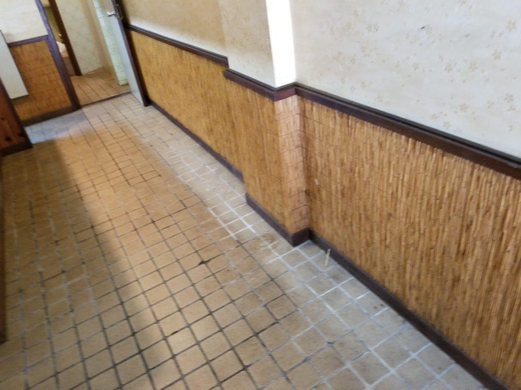飲食店の内装施工前
