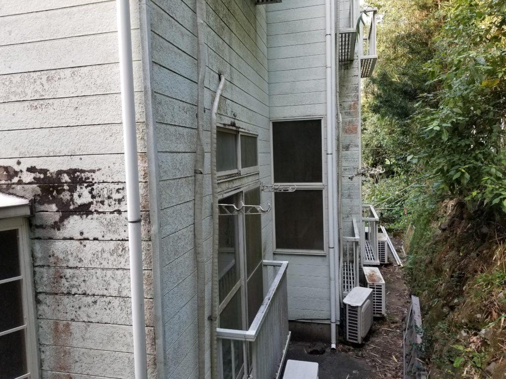 外壁塗装リフォームの施工前