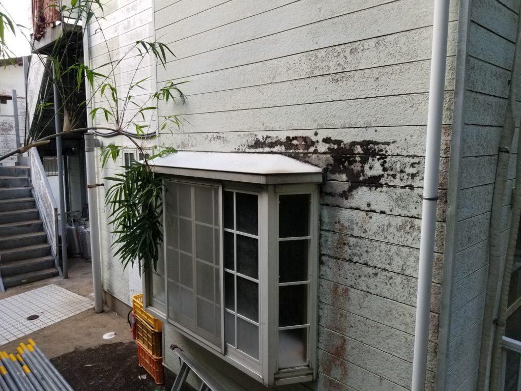 外壁リフォームの施工前