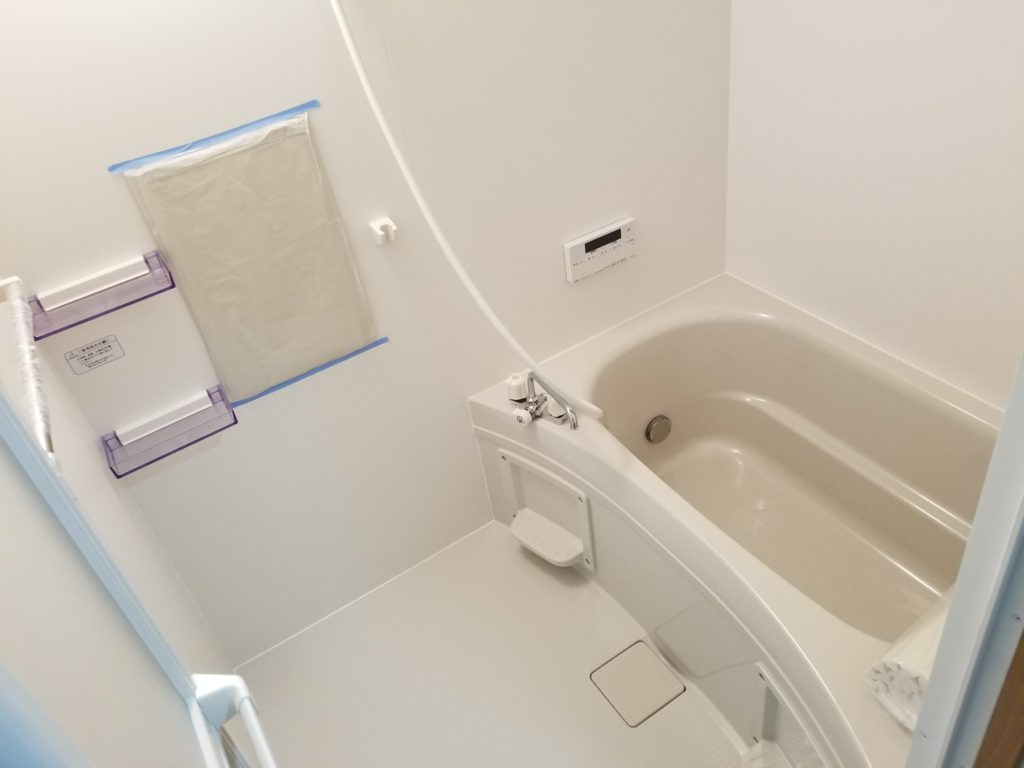 マンションリフォームの浴室のリフォーム後