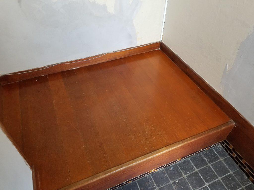 内装リフォーム床の施工前