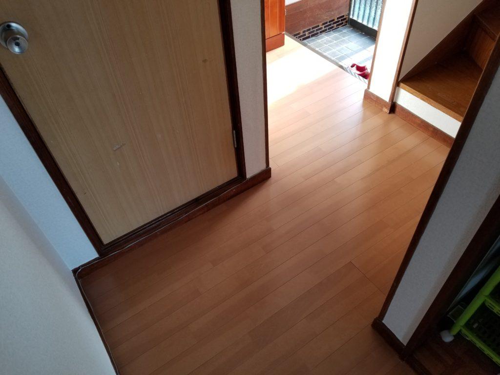 内装リフォーム床の施工後