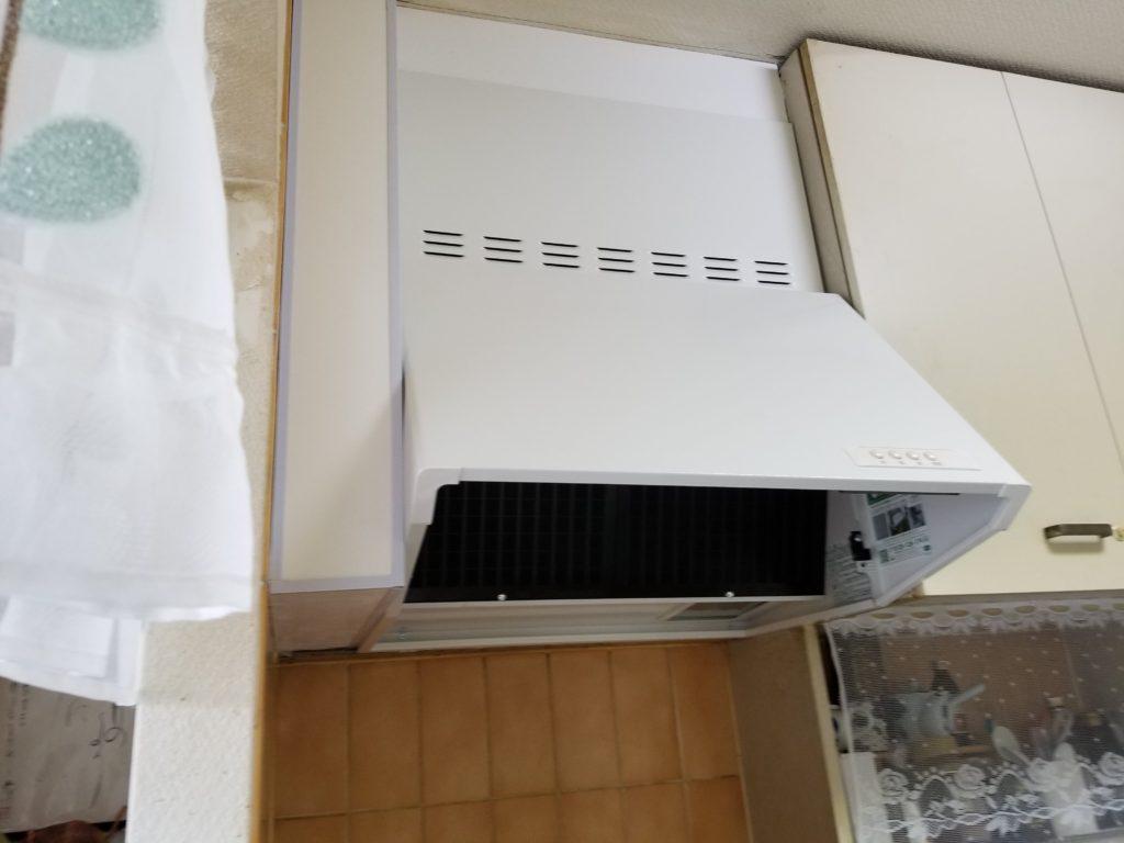 台所換気扇交換リフォーム