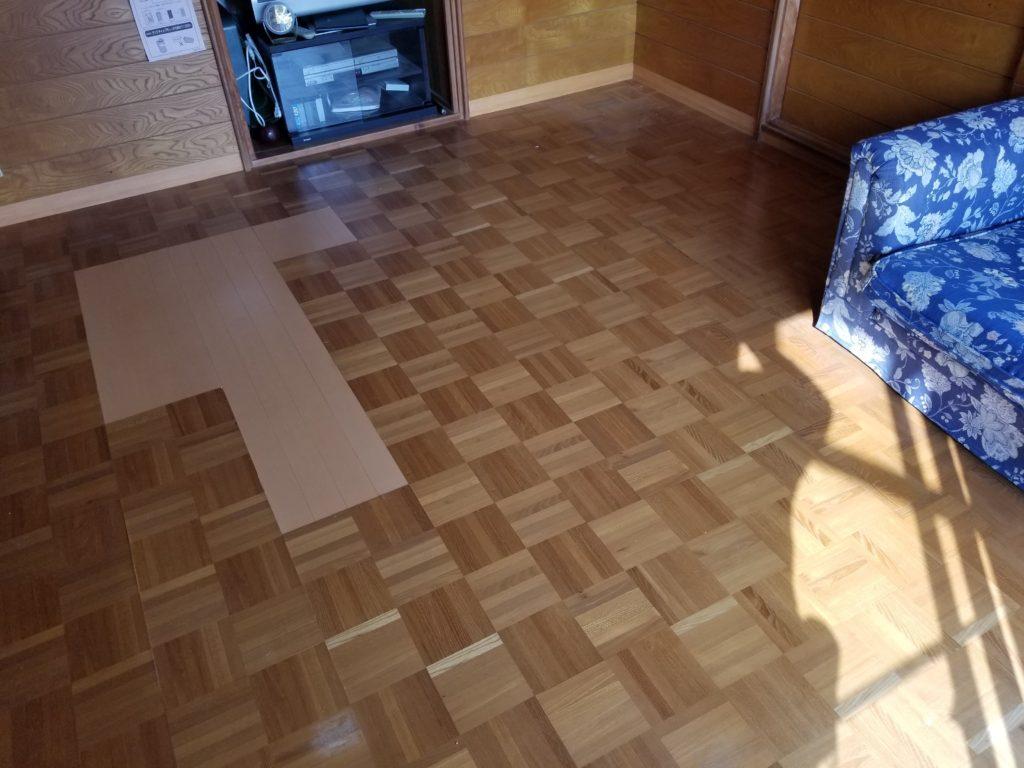床リフォームの施工前