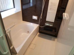 浴室リフォームの施工後
