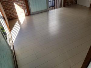 和室の床の施工後