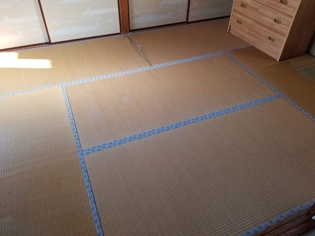 畳からフローリングリフォームの施工前